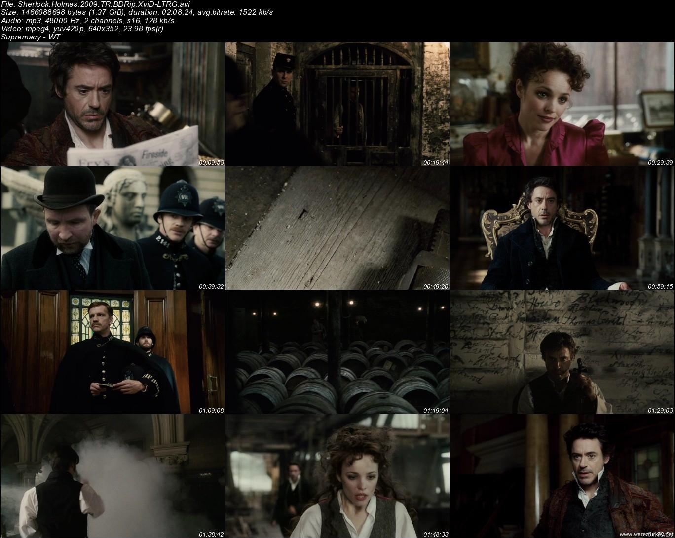 Sherlock Holmes - 2009 Türkçe Dublaj BDRip indir