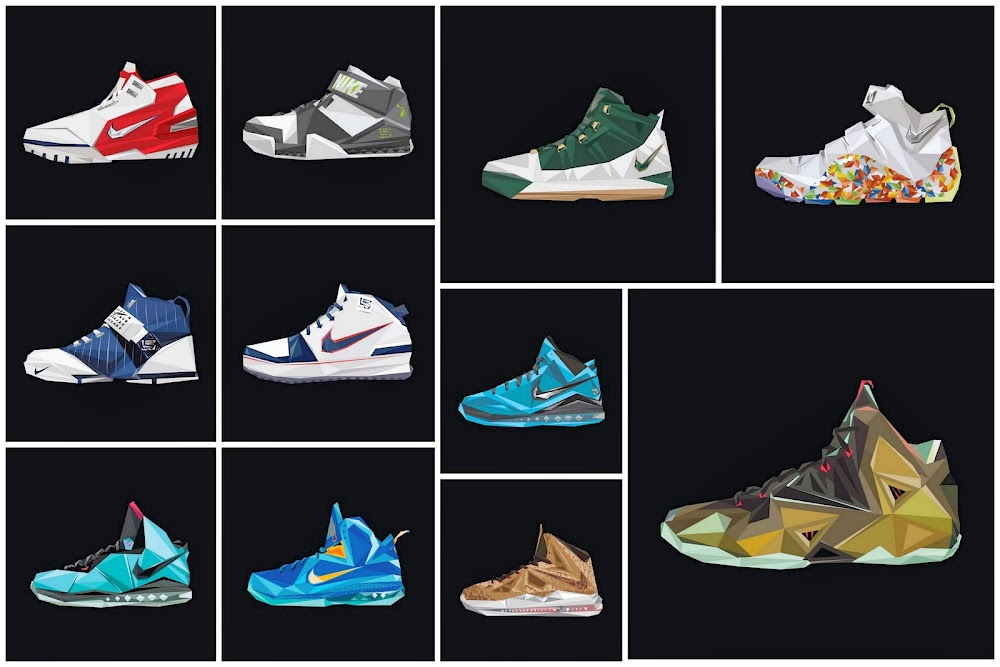 separation shoes 0f688 a1648 Nike LeBron Retrospective 8211 8220A Decade in the Making8221 ...