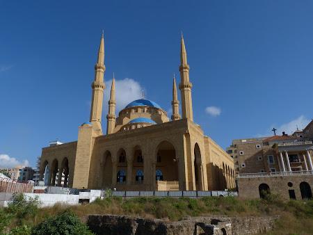 Obiective turistice Liban - Moscheea din Beirut.JPG