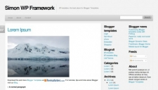 Simon wp framework blogger template 225x128