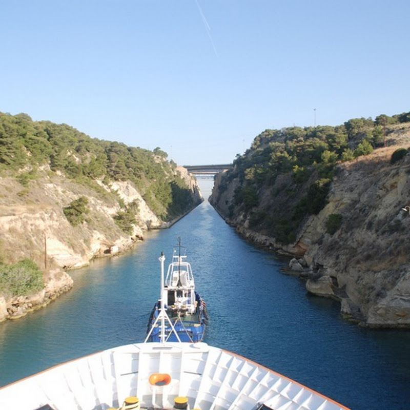 A Tight Squeeze: Corinth Canal, Greece