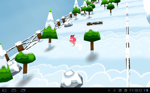 Игра Ski Rabbit для планшетов на Android