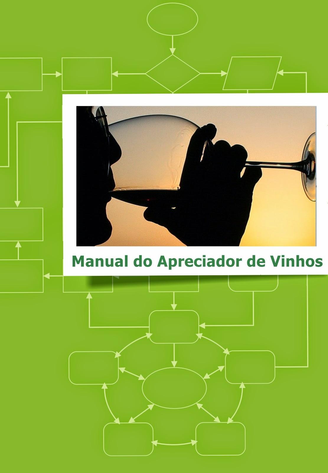 Manual do Apreciador de Vinhos, por DocesCIA