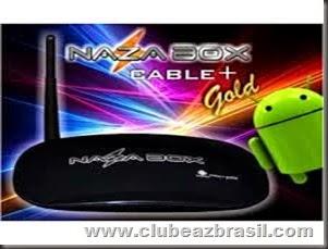 NAZABOX   GOLD CABLE NOVA ATUALIZAÇÃO - V 1.0.0.19
