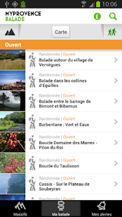 MyProvence Balade - screenshot thumbnail