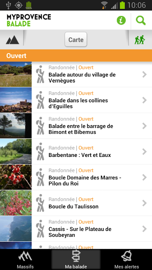 MyProvence Balade - screenshot