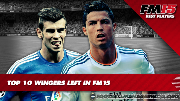 Top 10 Wingers Left  in Football Manager 2015