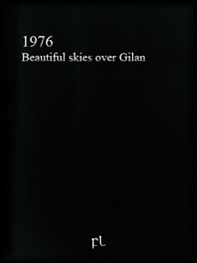 1976 - Beautiful skies over Gilan Cover