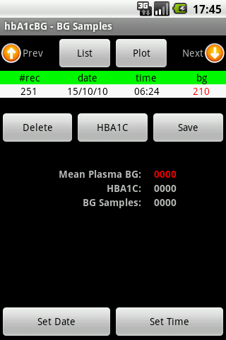 hbA1cBG - screenshot