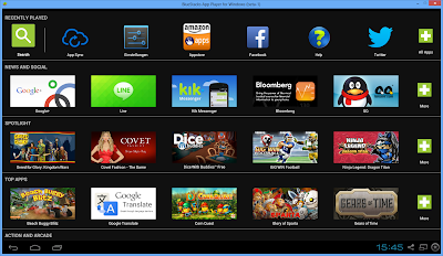 bluestacks android apps auf dem pc installieren. Black Bedroom Furniture Sets. Home Design Ideas