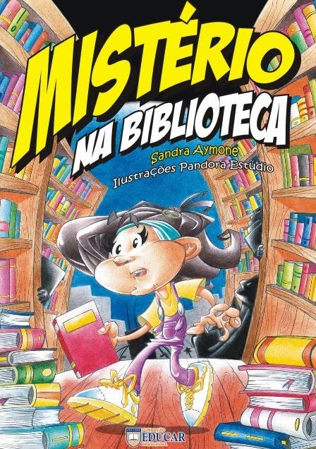 Mistério na Biblioteca, por Educar DPaschoa
