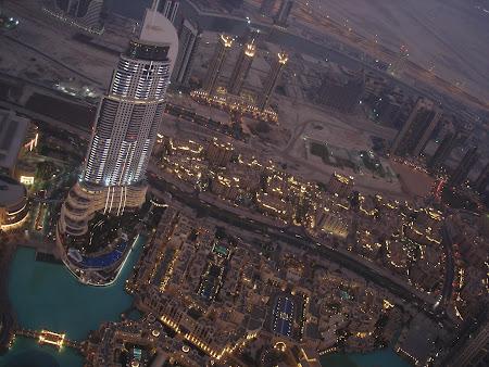 Imagini Dubai pe inserat din Burj Khalifa