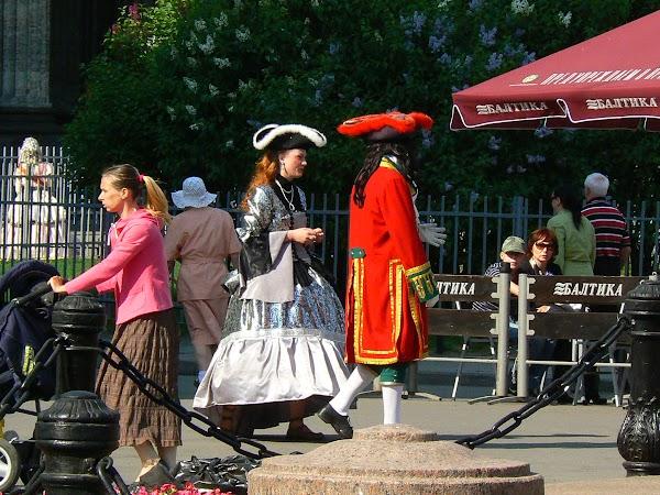 Imagini Rusia: te poti poza cu nobili in Sankt Petersburg.JPG