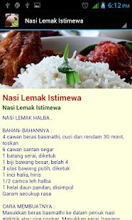 Resepi Nasi - náhled