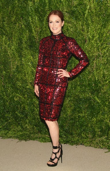 Julianne Moore attends CFDA and Vogue 2013 Fashion Fund Finalists Celebration