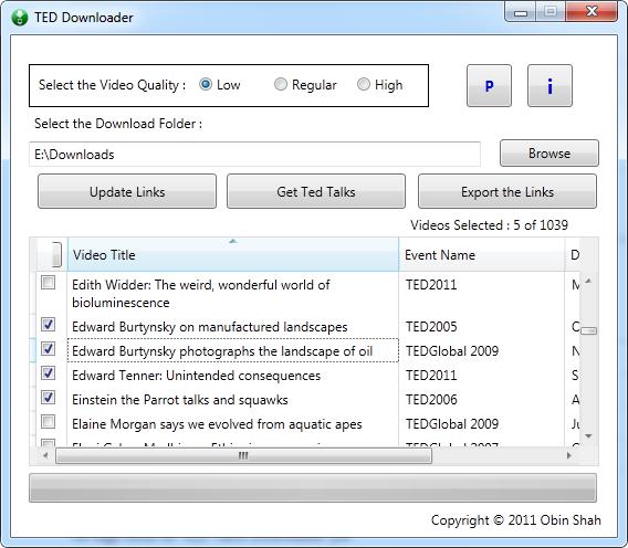 ted-downloader