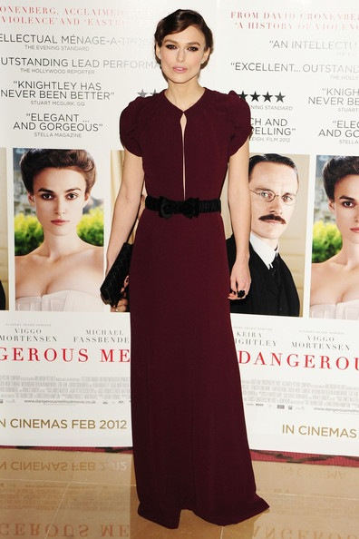 Keira Knightley a dangerous method premiere