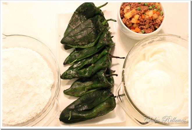 Chiles rellenos recipe step by step tutorial