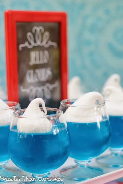 Mary Poppins Jello Clouds