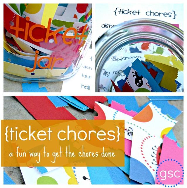 Ticket Jar Chores System for Summer