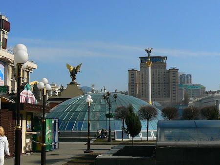 Imagini Ucraina: Piata Independentei Kiev.JPG