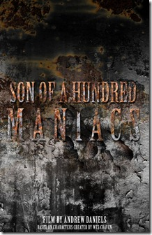 son of a hundred maniacs poster