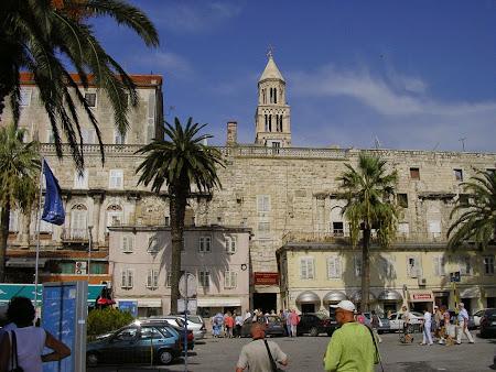 Obective turistice Split: orasul vechi