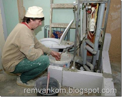 комплексной ремонт ванной комнаты 3