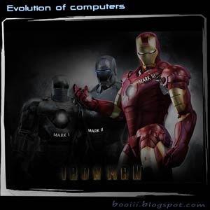 Evolution Of Computers(Iron Man)