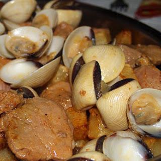 Carne de Porco Alentejana - Pork Fillet Alentejo Style (Portugal)