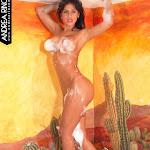 Andrea Rincon, Selena Spice Galeria 41 : Relajacion, Petalos De Rosa y Espuma En El Jacuzzi – AndreaRincon.com Foto 37
