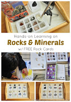 Study of Rocks and Minerals (with FREE Cards)
