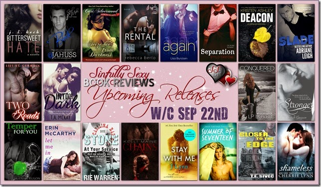 UPCOMING RELEASES SEP 22