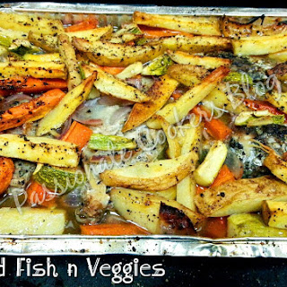 Baked Fish n Veggies