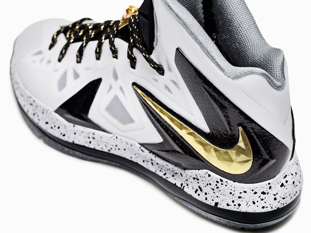 huge discount 4c697 531fa ... White Metallic Gold-Black. Nike Introduces Elite 20 Including Nike  LeBron X PS Elite ...