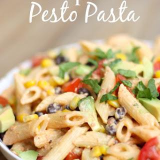 Chipotle Pesto Pasta.