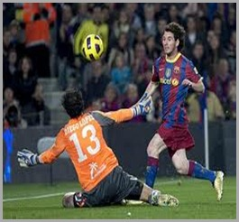messi vs villarreal