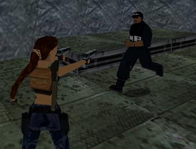Lara croft lara guard