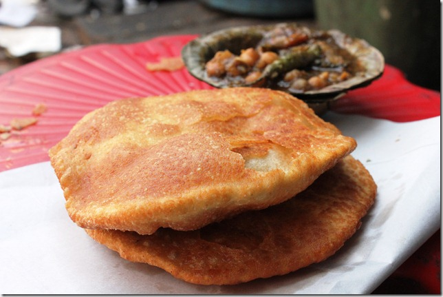 puri kachori at Vajpayee