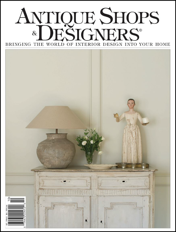 The Newest Issue Of My Fav Magazine Antique Shops And Designers Is Now Out Online With Gorgeous Photographs Interior Designer Carol Glassers New