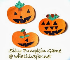 Silly Pumpkin Game @ whatilivefor.net