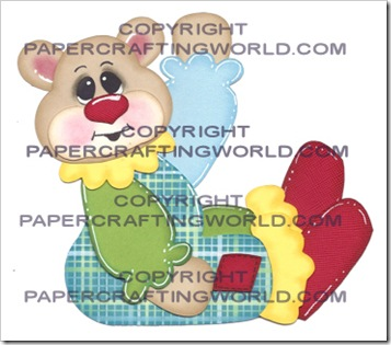 CRICUT SVG BEAR CLOWN BOY 350