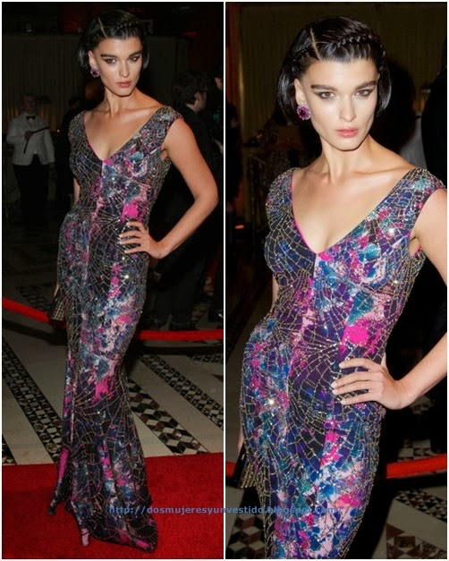Crystal Renn Arrivals New Yorkers Children