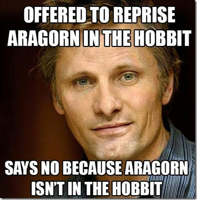 Aragorn in The Hobbit