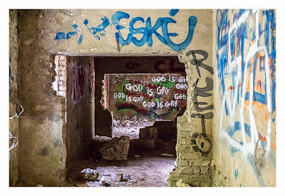 LP: Atlantikwall - MKB Malo Terminus - Graffitis im Fort