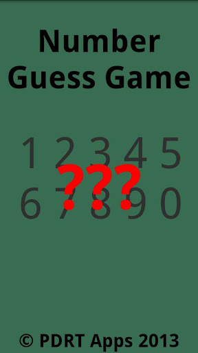 Number Guess