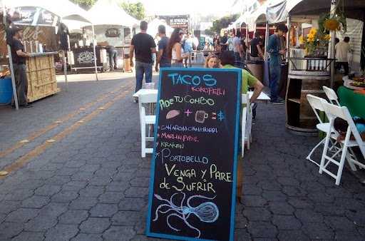 Tacos Kkopelli at the Baja Beer Fest