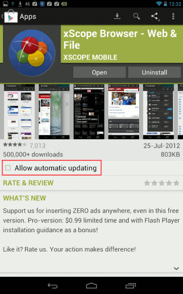 A Consuming Experience: Nexus 7 - how to install Flash to view BBC
