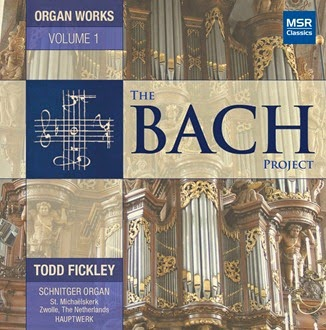 CD REVIEW: Johann Sebastian Bach - THE BACH PROJECT, Volume One (MSR Classics MS 1561)