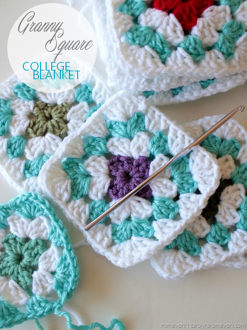 College Granny Square Blanket via homework (7)